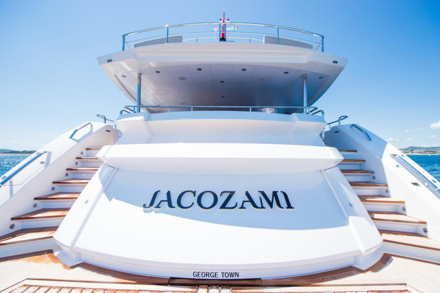 SYM Superyacht Management Sunseeker 131 Yacht Jacozami